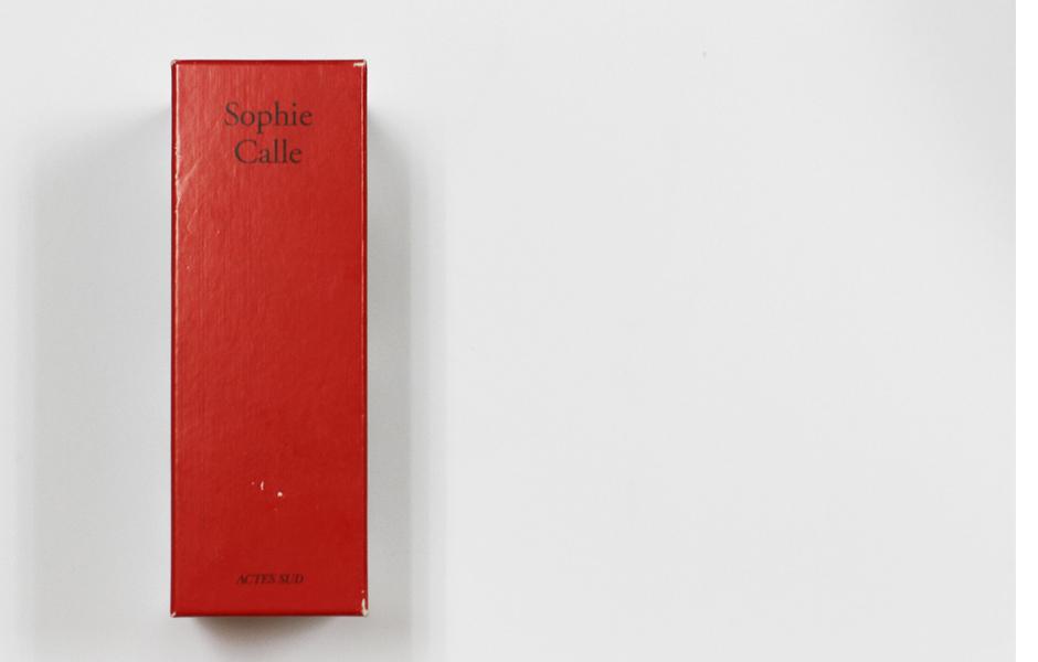 Doubles-jeux Sophie Calle 00