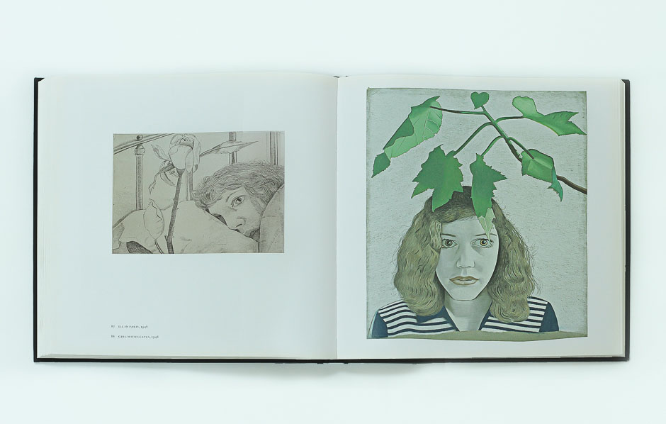 lucian freud on paper 9 _girl-label