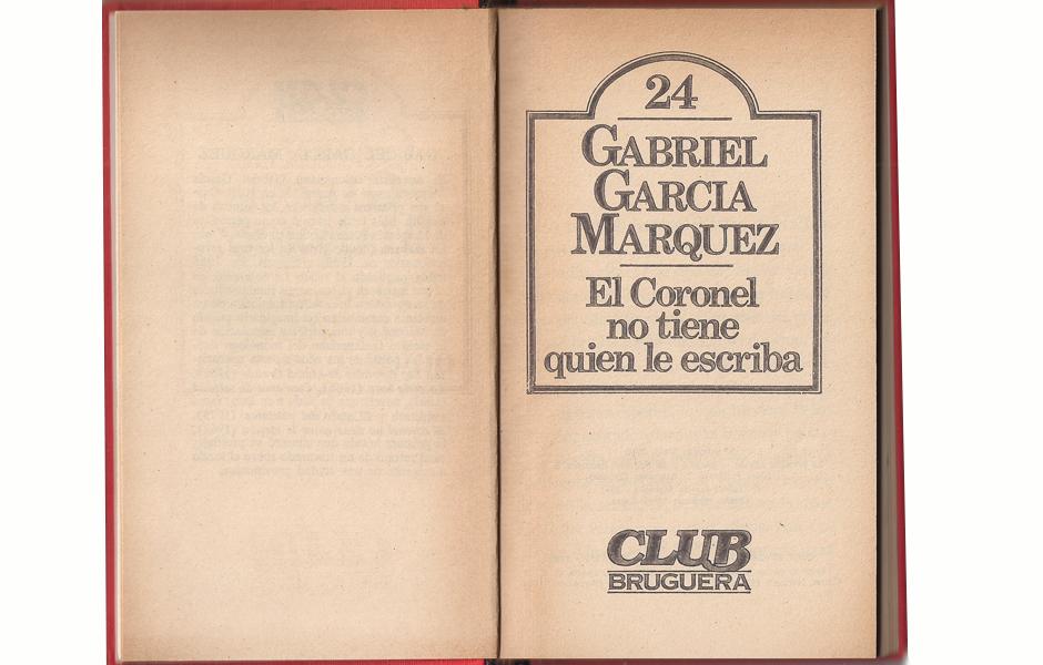 El coronel_Gabriel García Márquez2