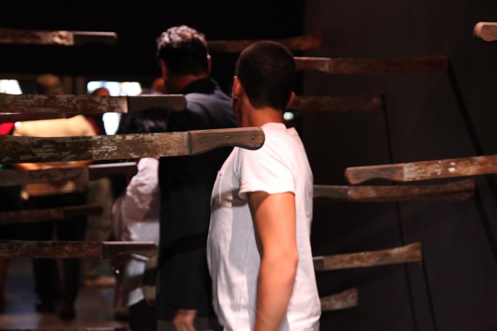 Deborah Castillo. Acción y culto. Centro Cultural Chacao, 2013.