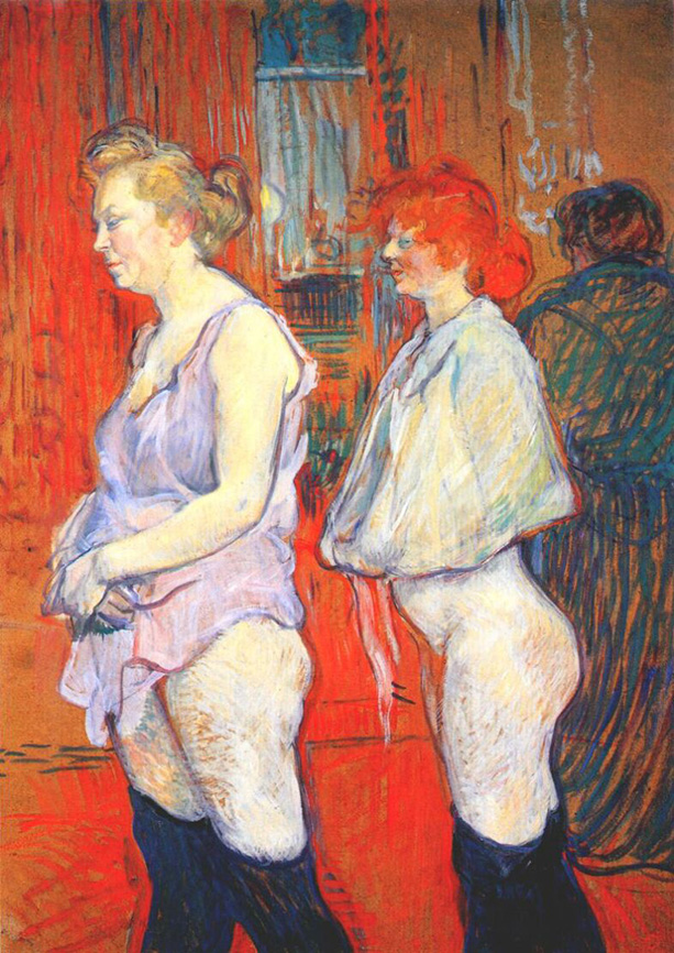 Henri Toulousse-Lautrec, The Medical Inspection.