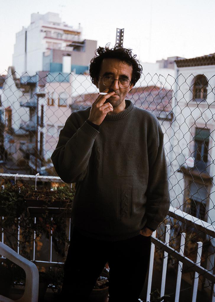 © Ángela Bonadies. Roberto Bolaño.