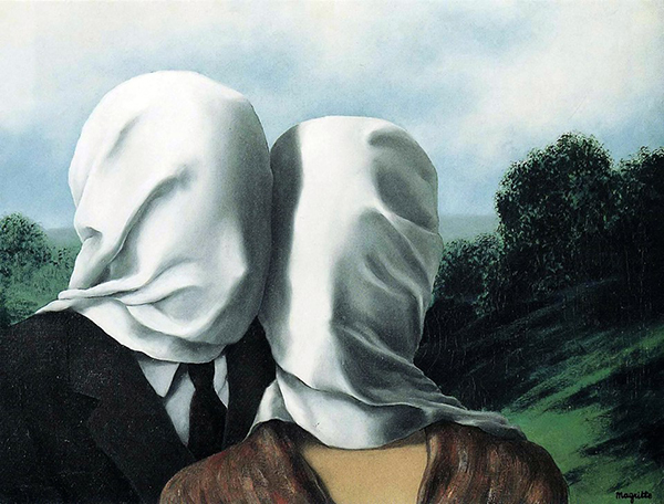 Eurythmia 07-1.-René-Magritte-The-Lovers-1928