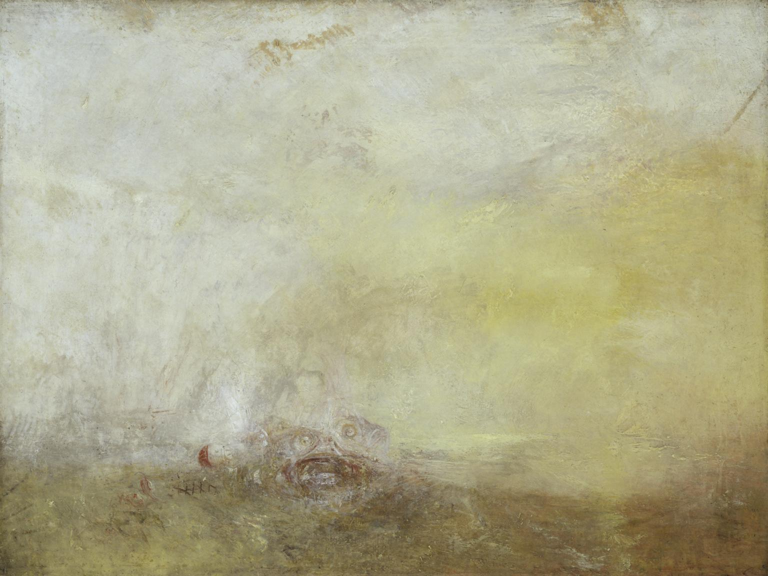 William Turner, Sunrise with Sea Monsters, 1845.
