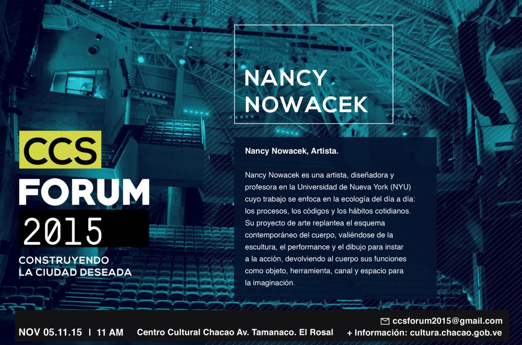 Nancy Nowacek invitacion