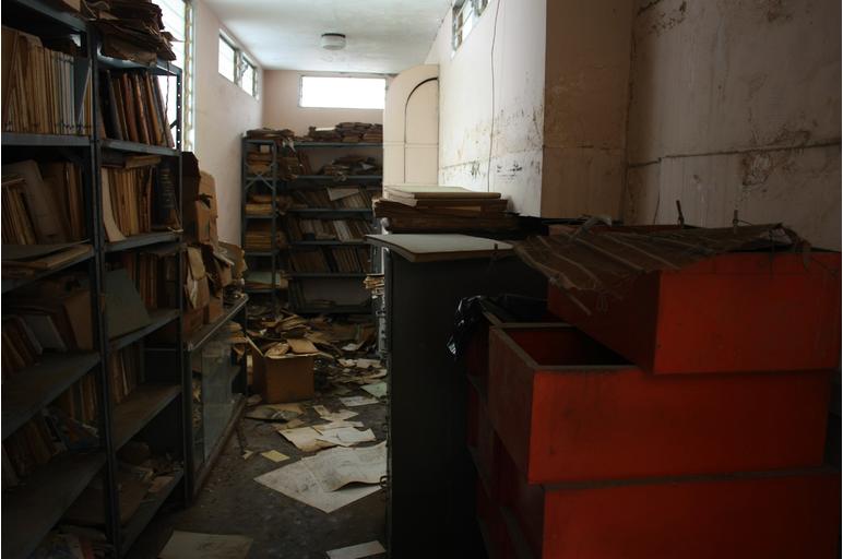 Demolición Florencia Alvarado