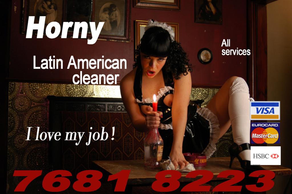 Deborah Castillo. Horny Latin American Cleaner.