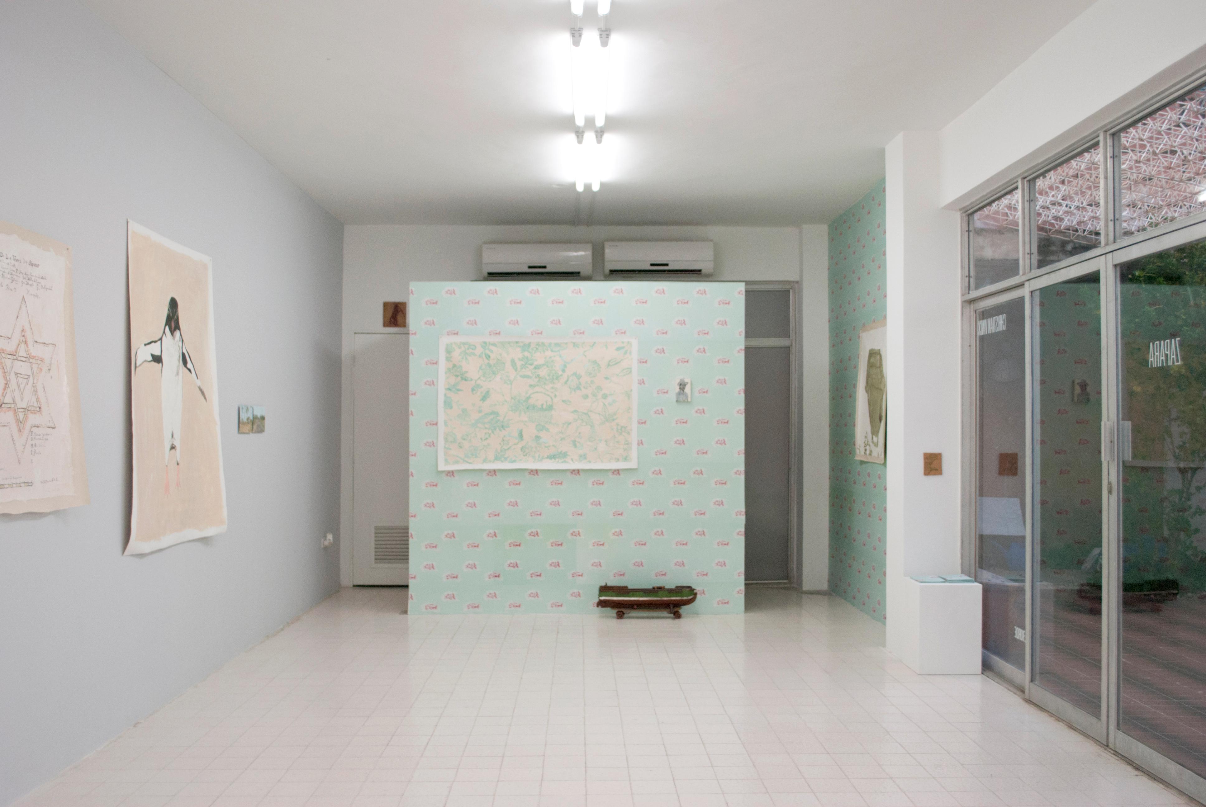 Ailuz Zapara, exposición de Christian Vinck. Foto: Al borde.