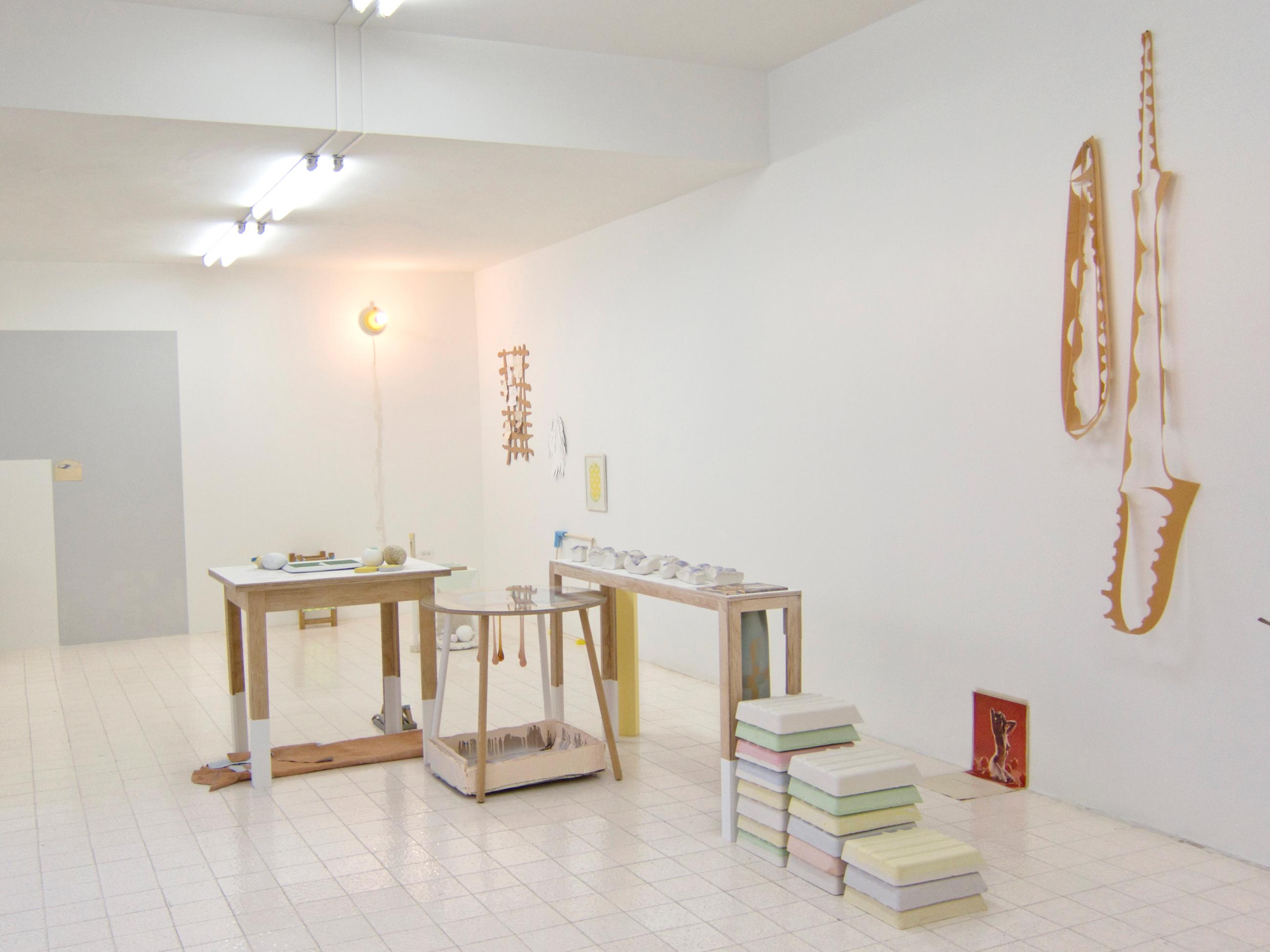 Reforma del ahora, exposición individual de Juan Pablo Garza. Foto: Al borde.