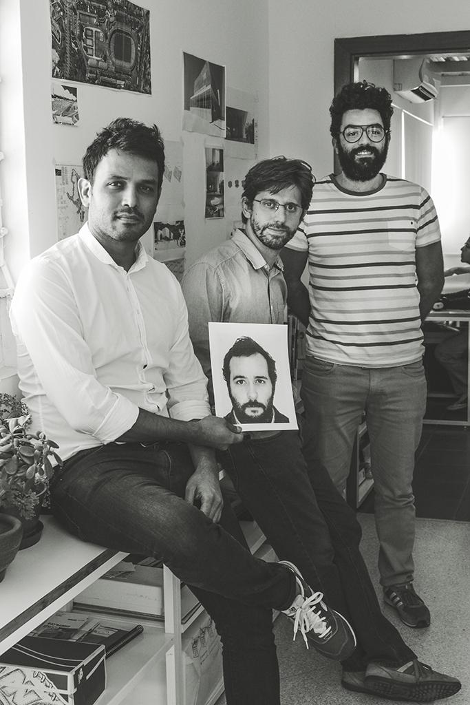 Kristian Ceballos, Daniel Otero (en la metafoto), Mawarí Núñez y Alejandro Méndez.