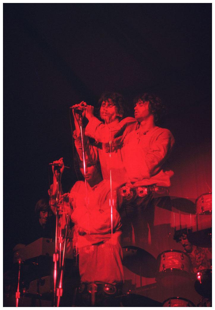 The Doors, The Roundhouse, Londres, 7 de septiembre de 1968.