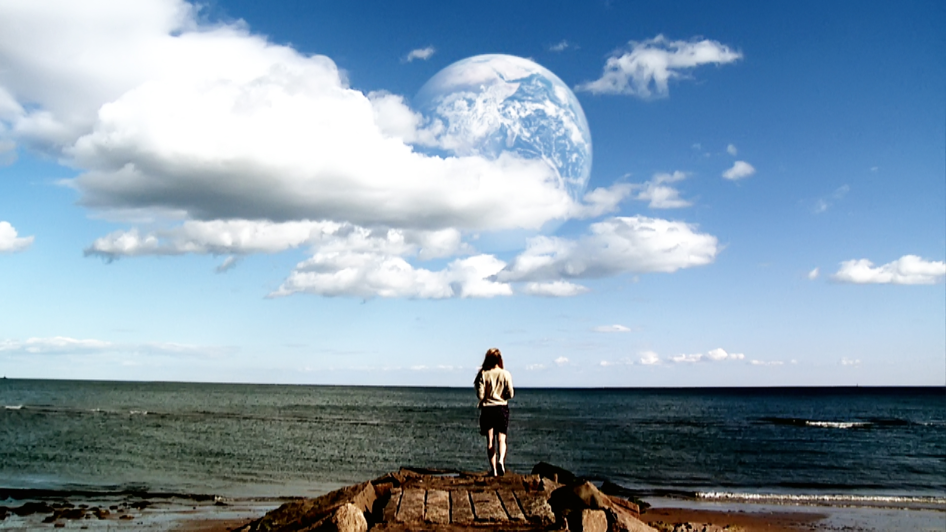 Fotograma de «Another Earth» (2011), de Mike Cahill.