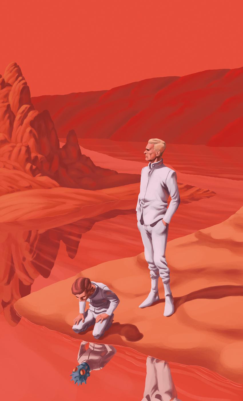 «Crónicas marcianas», de Ray Bradbury.