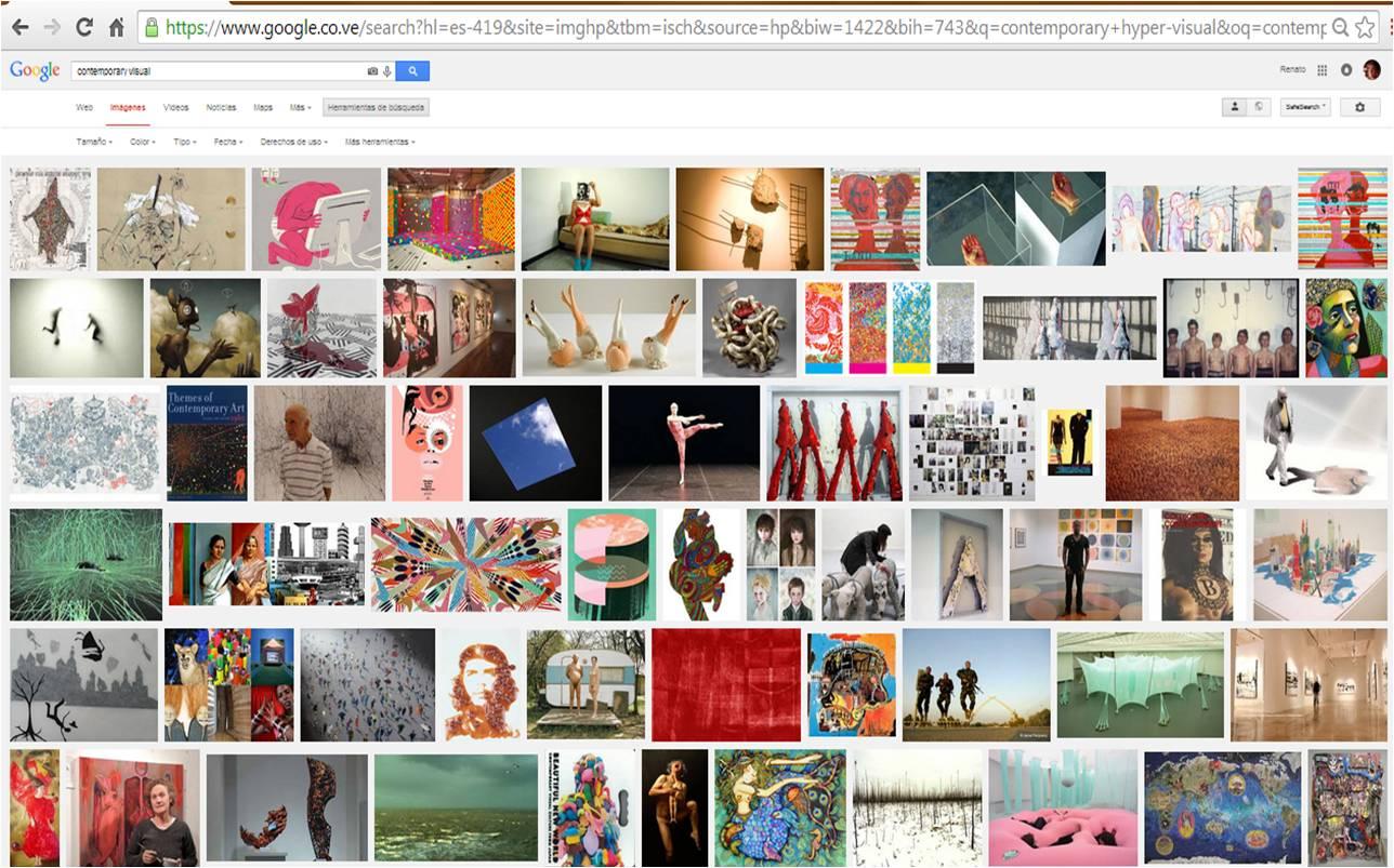 Motor de búsqueda de imágenes a través de la plataforma Google