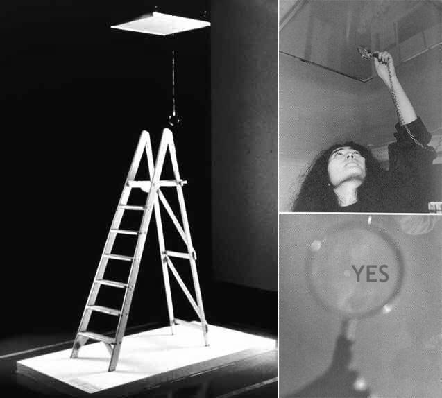 Yoko Ono. Yes. 1966.
