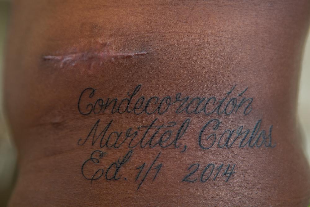 Condecoracion Martiel, Carlos, 2014. Miami. Registro fotográfico: Jayme Gershen.
