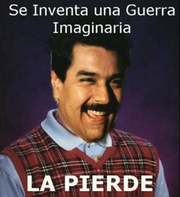 """Composición que """"desacredita"""" al presidente Maduro a partir del discurso pretoriano del gobierno venezolano actual."""
