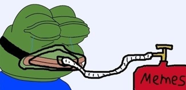 """La rana """"Pepe"""", el símbolo del desencanto y el odio en Norteamérica."""