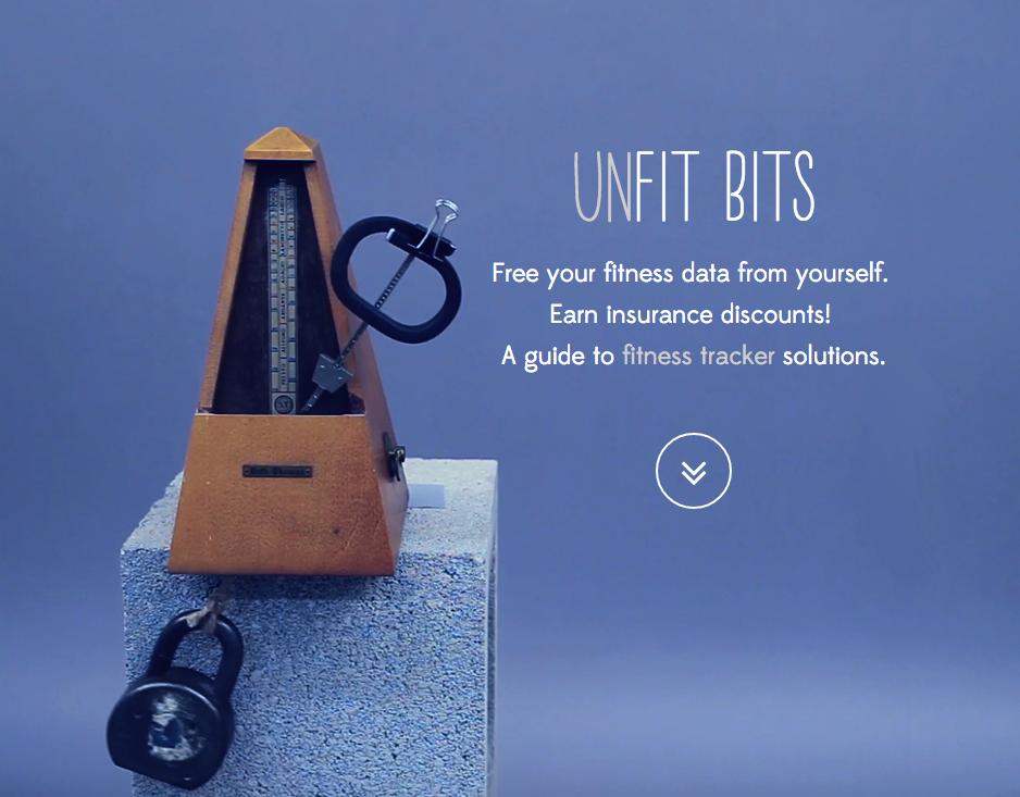 Imagen oficial de Unfit Bits (Fuente: Unfitbits.com)